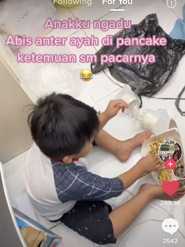 Kisah anak yang viral di TikTok ungkap kejadian tak terduga.