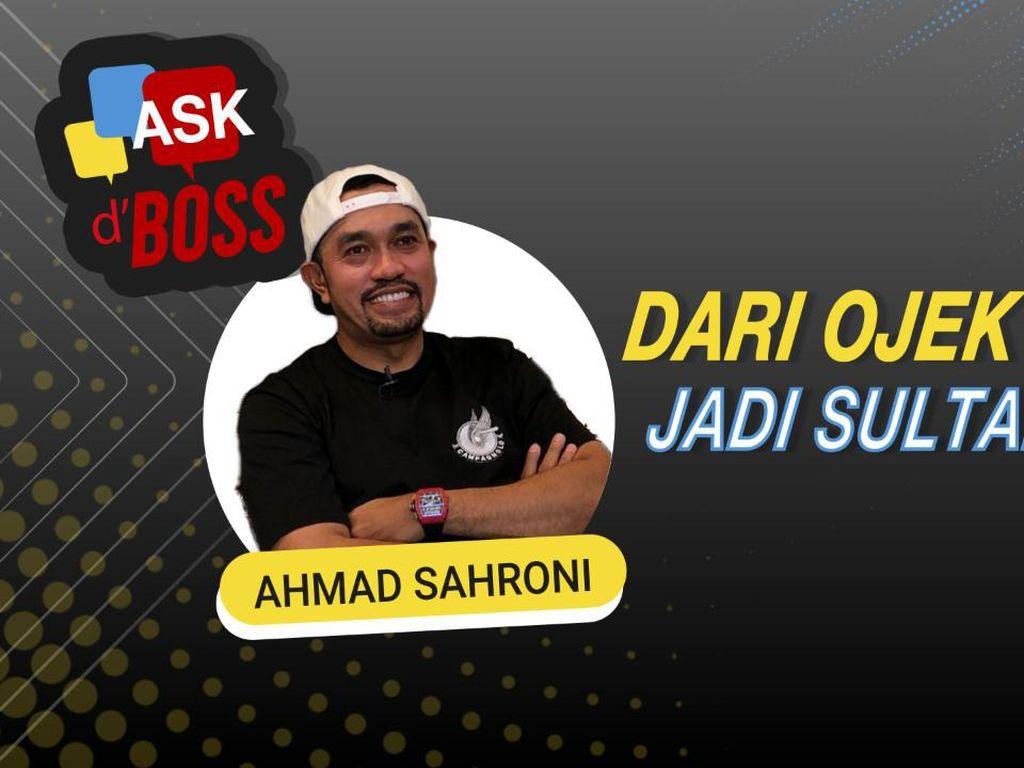Ngobrol Bareng Ahmad Sahroni: Dari Ojek Payung hingga Jadi Sultan