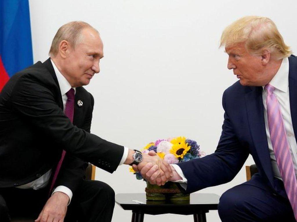 AS: Putin Dorong Kampanye Pengaruh untuk Dukung Trump Saat Pilpres 2020