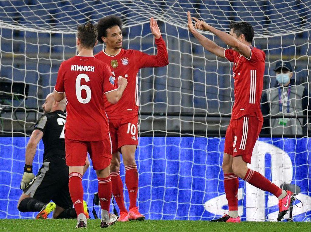 Liga Champions: Bayern Tak Remehkan Lazio meski Sudah Unggul Jauh