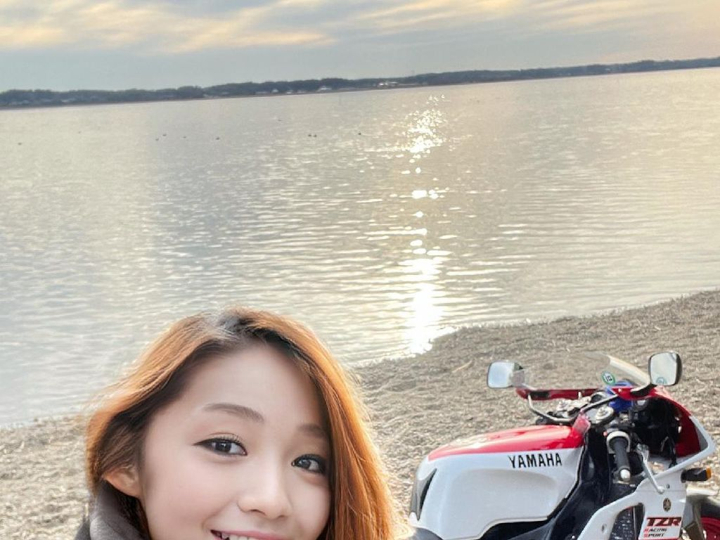 Bikers Cantik Ternyata Pria Tulen yang Bikin Penasaran