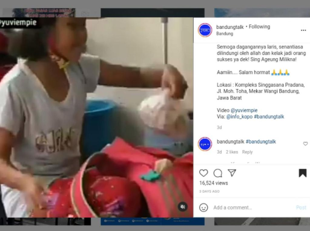 S3 Marketing! Bocah di Bandung Jualan Permen Sambil Gombalin Pembeli
