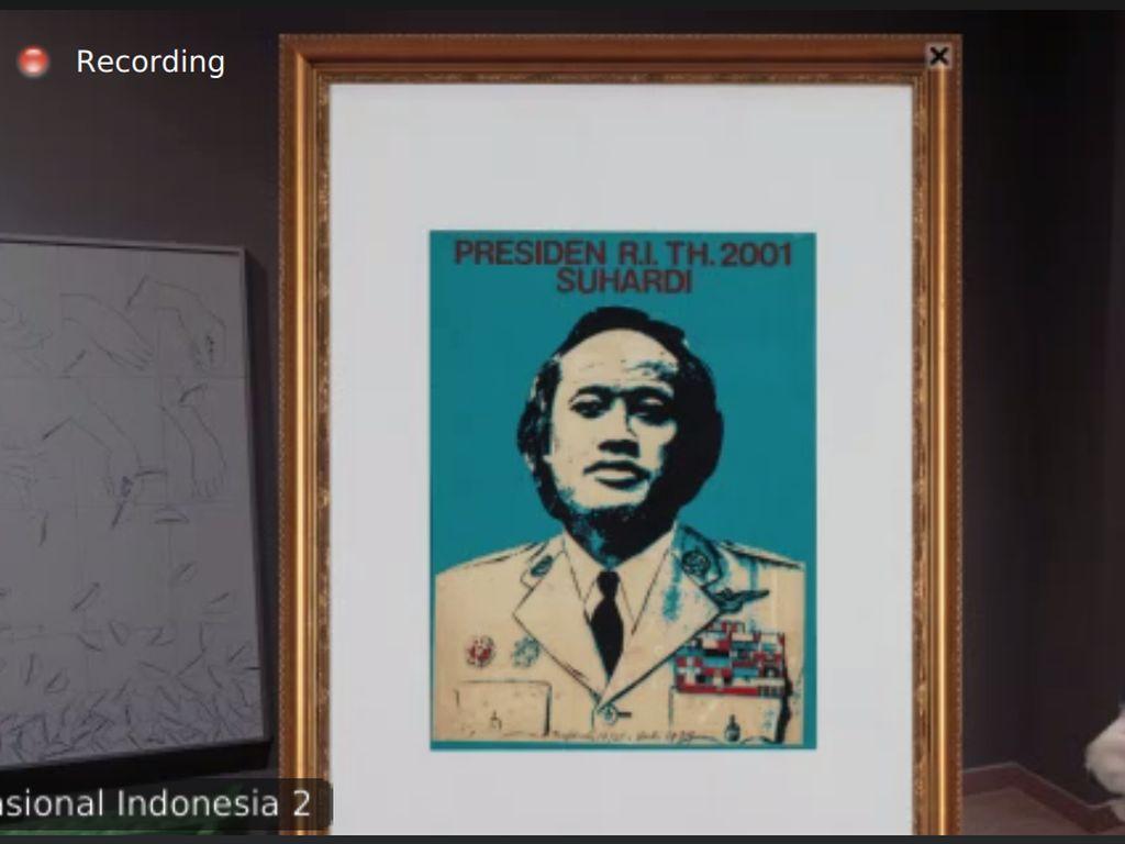 Dikoleksi GNI, Lukisan Ini Sentil Soeharto sampai Buat Senimannya Dipenjara