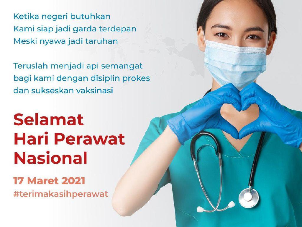Hari Perawat Nasional, Momentum Apresiasi Pengabdian di Masa Pandemi