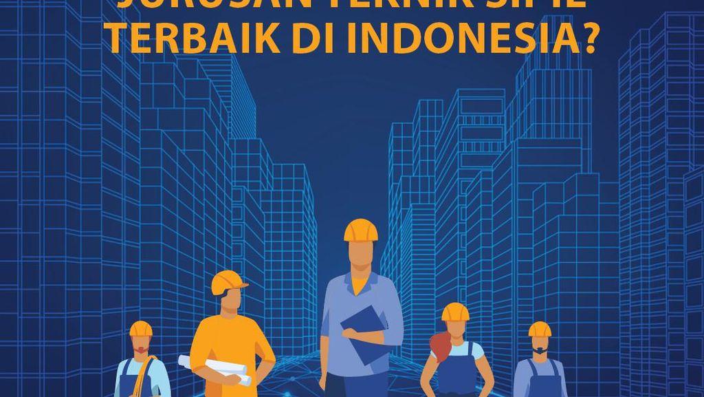 Jurusan Teknik Sipil Terbaik di Indonesia, Ada di Universitas Mana?