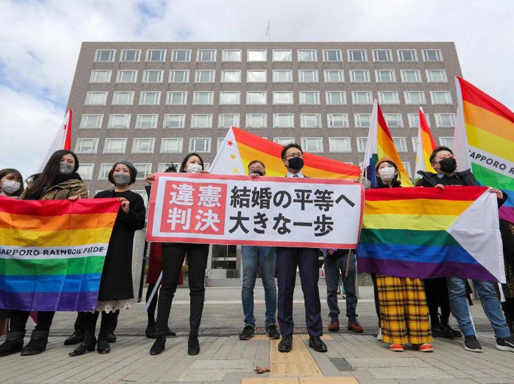 Pengadilan Jepang Putuskan Larangan Pernikahan Sejenis Inkonstitusional