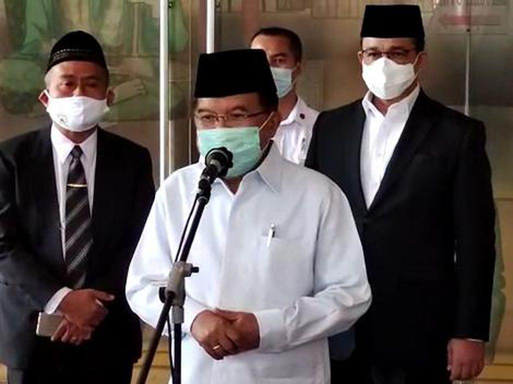 Jelang Ramadhan, Jusuf Kalla Ingatkan Penerapan Protokol Kesehatan di Masjid