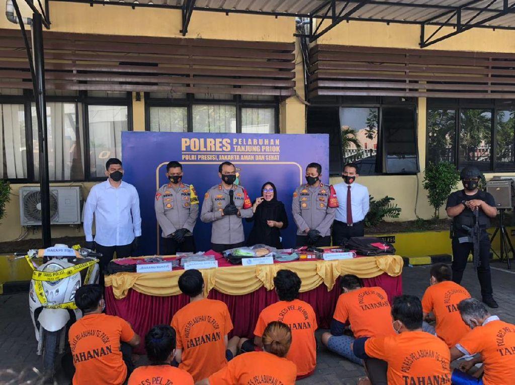Polres Pelabuhan Tj Priok Gagalkan Penyelundupan Sabu 2 Kg