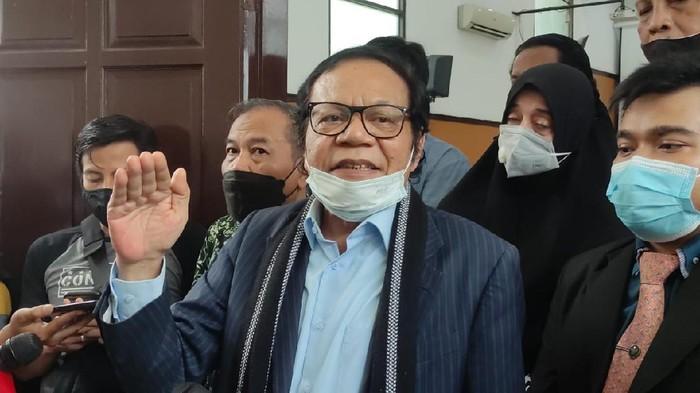 Kuasa hukum Habib Rizieq, Alamsyah Hanafiah (Foto: Dwi/detikcom)