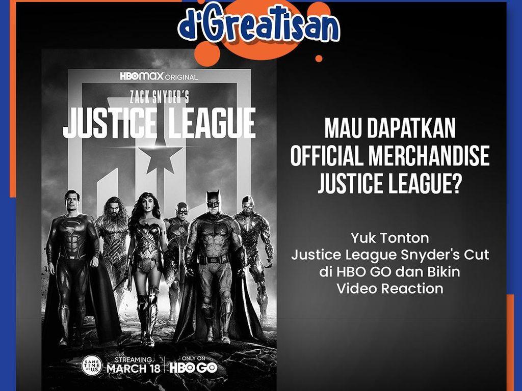 Masih Ada Kesempatan Dapat Official Merchandise di Kuis Justice League Part 2