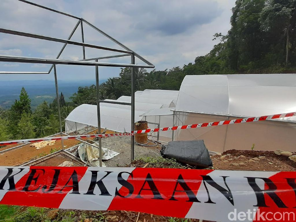 Penampakan Green House Rp 2 M dari Penyelewengan Bansos Corona Banyumas