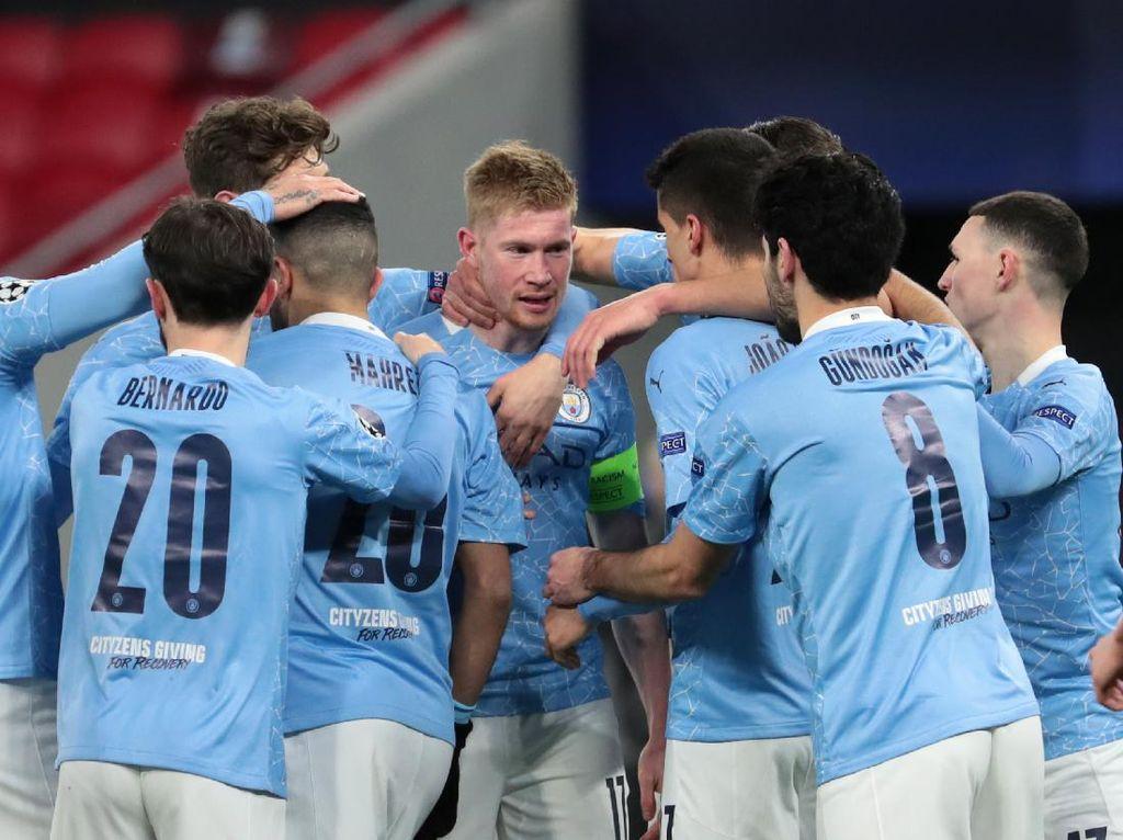 5 Pemain Manchester City dengan Gaji Tertinggi