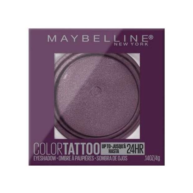 Maybelline Color Tatto Eyeshadow merupakan salah satu cream eyeshadow tahan air terbaik yang berani dan tahan lama untuk tampilan sepanjang hari.