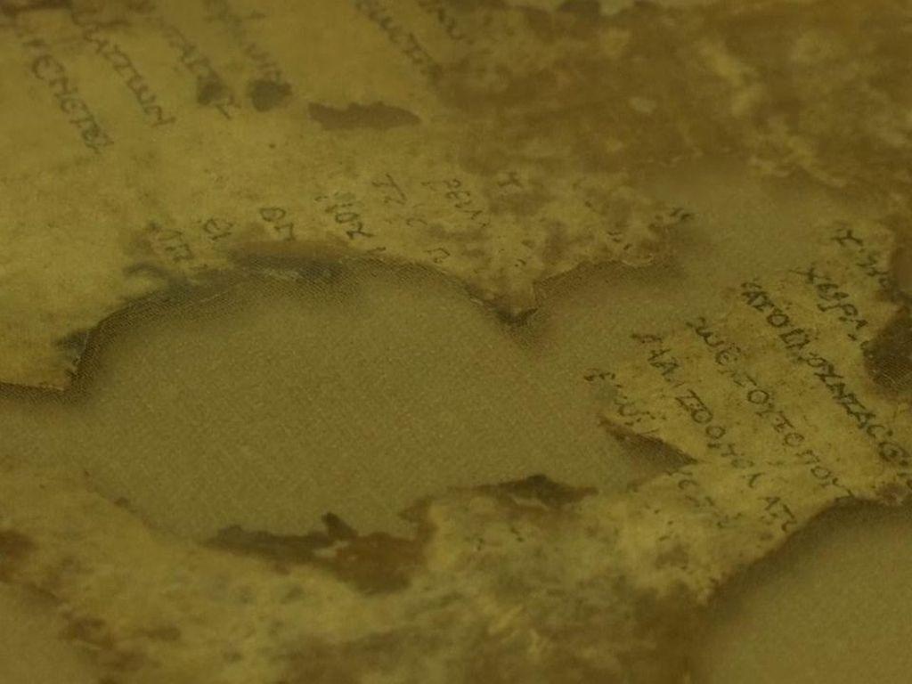 Israel Temukan Potongan Naskah Alkitab Berusia 1.900 Tahun