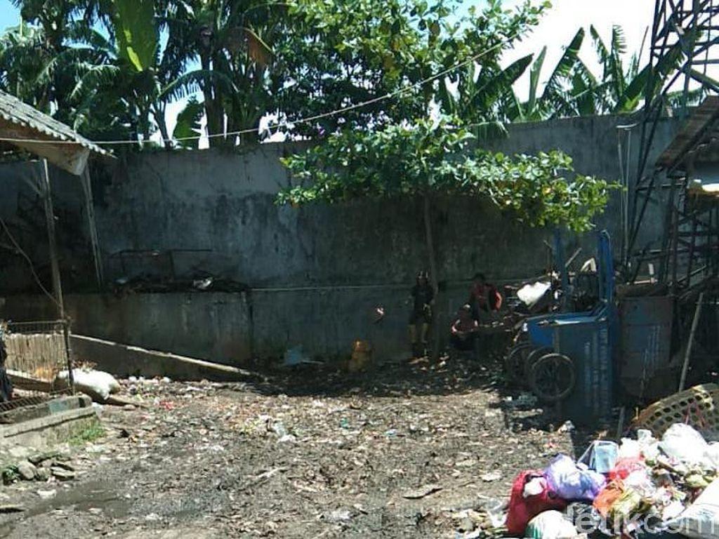 Sampah Pasar Ajibarang Sudah Diangkut tapi Masih Ada yang Buang Sembarangan