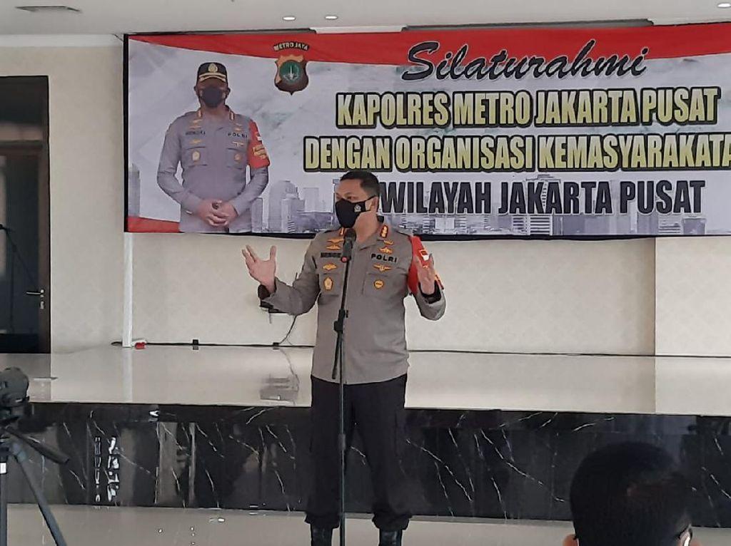 Cegah Aksi Premanisme, Polres Jakpus Kumpulkan Pimpinan Ormas