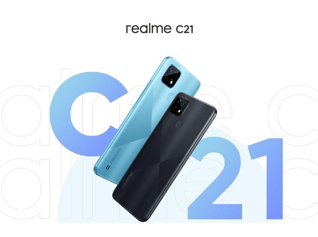 HP Murah Realme C25 dan C21 Segera Hadir di Indonesia