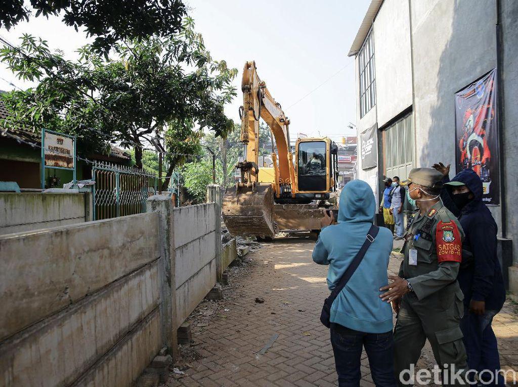 Polisi Panggil Pemilik Lahan Ditembok di Ciledug soal Dugaan Ancaman