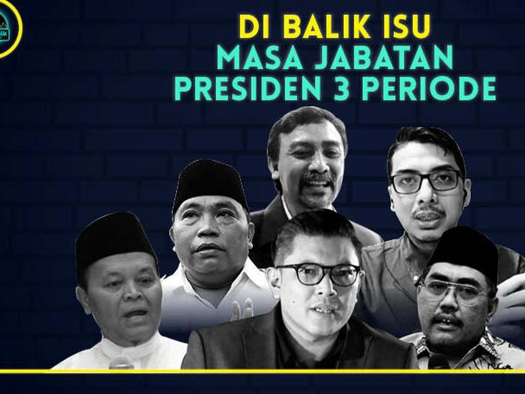 dRooftalk Soroti Wacana Presiden Tiga Periode