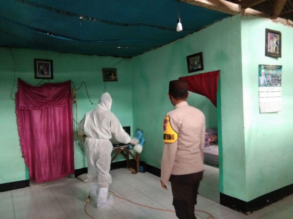 Kampung Sehat 2 NTB, Bhabinkamtibmas Bantu Tracing Pasien COVID-19