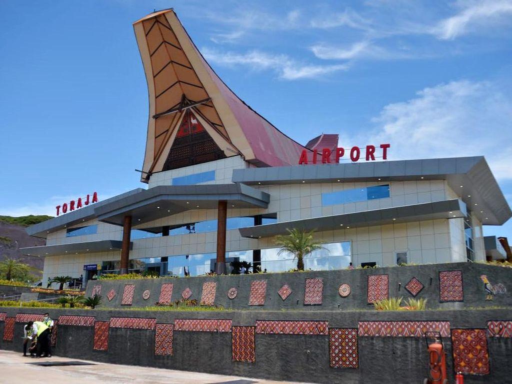 Habiskan Rp 800 M, Proyek Bandara Toraja Membelah 3 Bukit