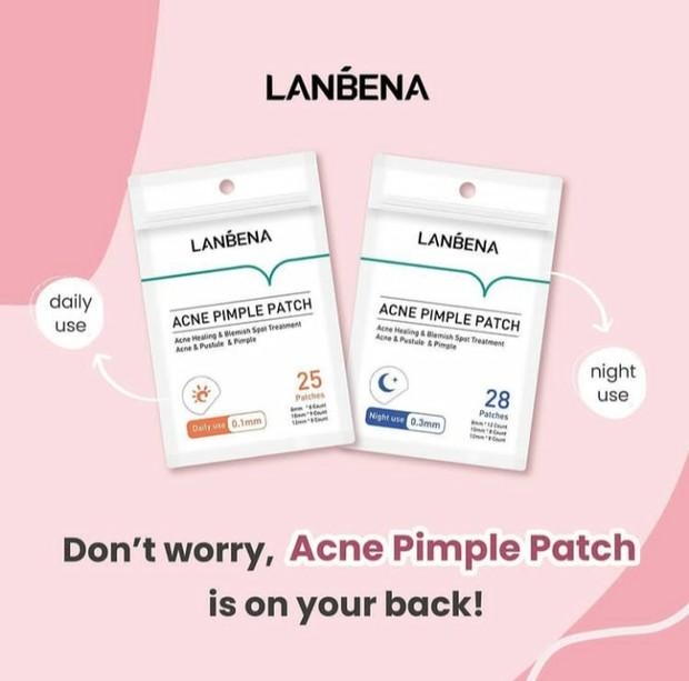 Acne Patch Super Tipis dari Lanbena Bisa Jadi Solusi Ampuh Merawat Jerawat yang Meradang/instagram.com/lanbena.indonesia