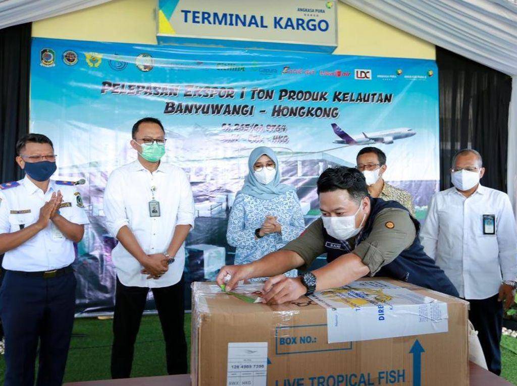 Bandara Banyuwangi Kini Layani Kargo Ekspor