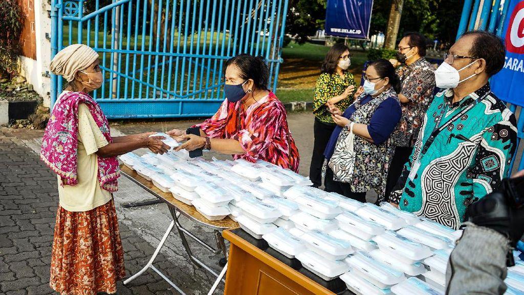 Berbagi Makan Gratis di Tengah Pandemi
