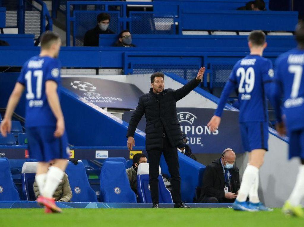 Diego Simeone Akui Chelsea Lebih Baik dari Atletico