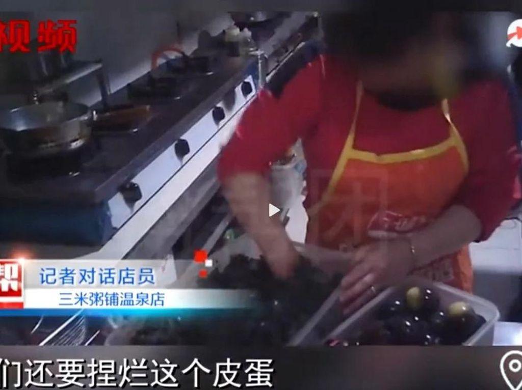 Duh! Restoran Ini Pakai Sisa Daging Babi Bekas Untuk Buat Pesanan Bubur