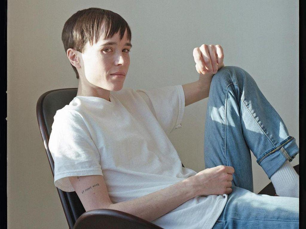 Kini Transgender, Elliot Page Merasa Hidupnya Terselamatkan