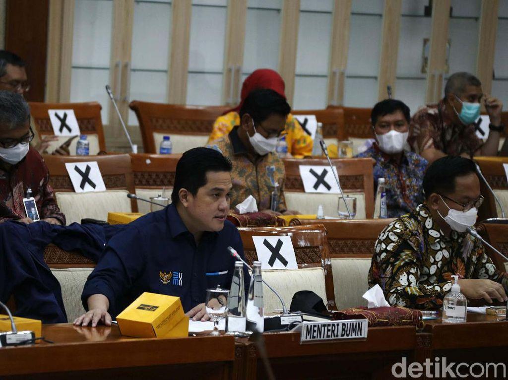 Tok! DPR Setuju Usulan PMN BUMN Tahun Depan Rp 72 T