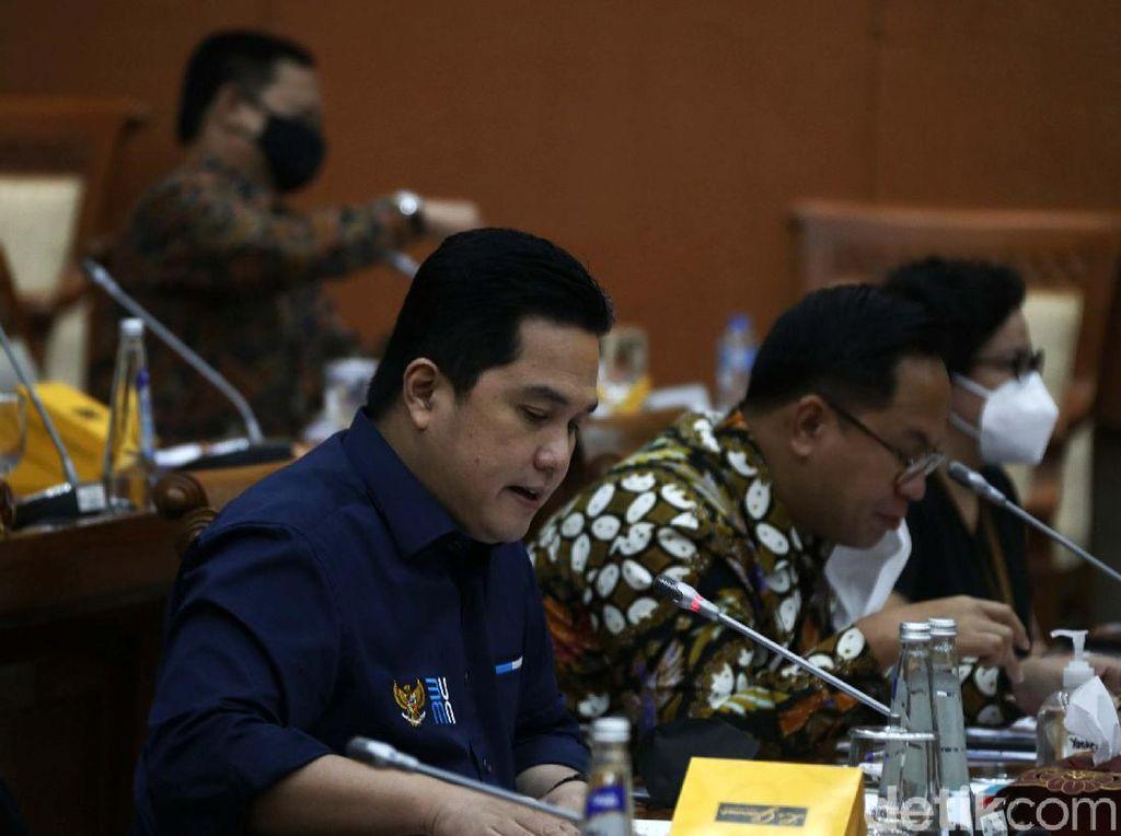 DPR Panggil Erick Thohir Bahas Suntikan Modal Negara