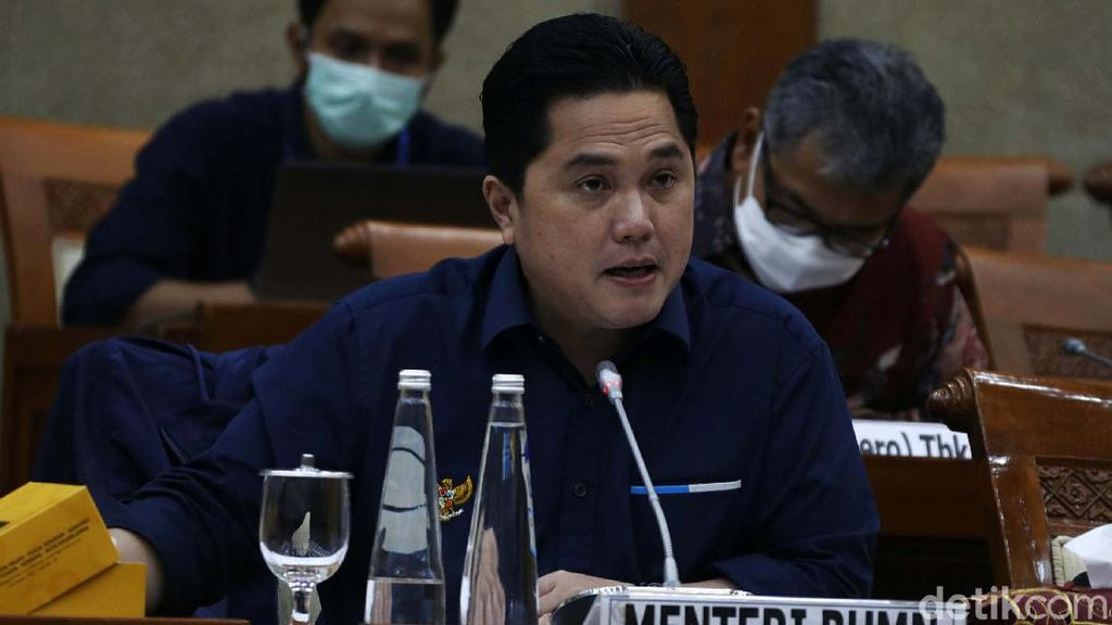 Erick Thohir-Komisi VI Bahas Holding BUMN Ultra Mikro