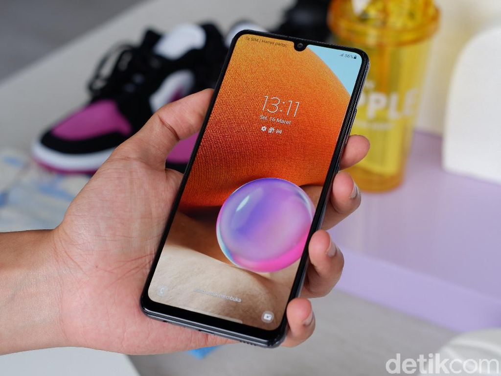 Samsung Galaxy A32 Dibanderol Rp 3 Jutaan, Spesifikasinya?
