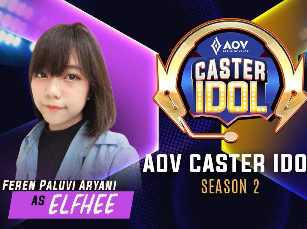 Mengenal Elfhee, Dara Manis yang Jago Main AOV dan Doyan Cosplay