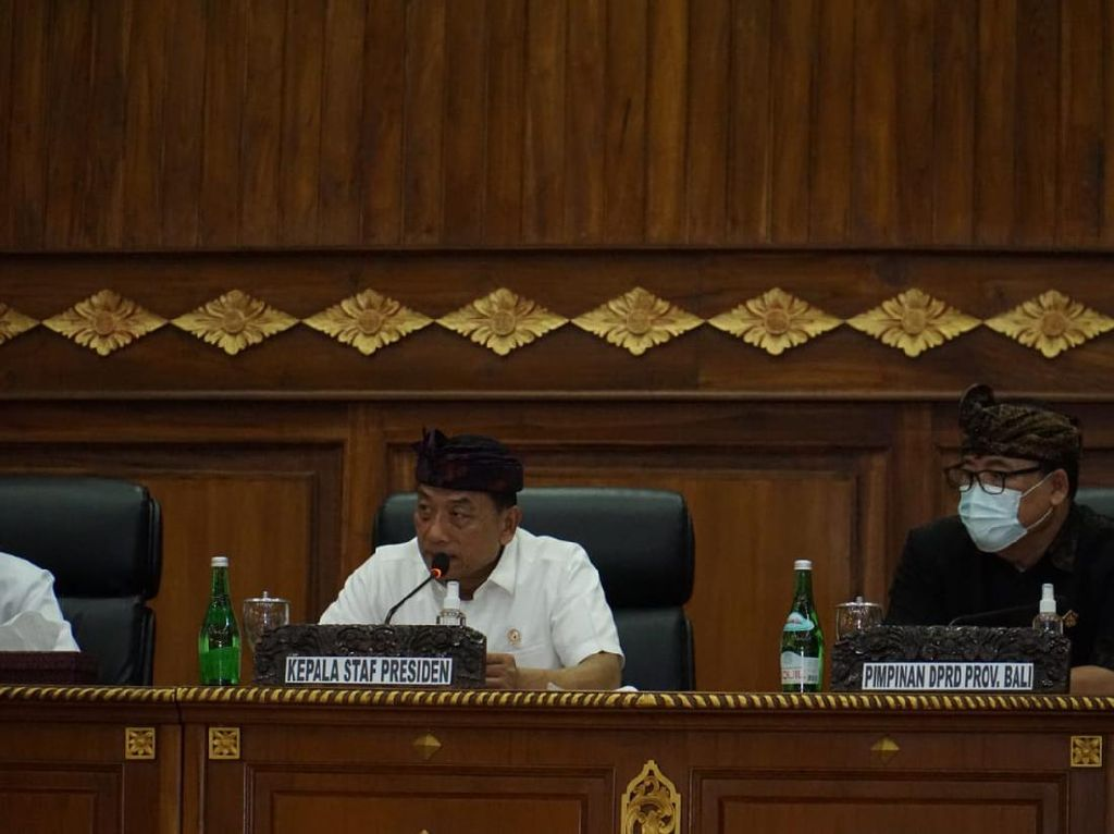 Moeldoko Ada di Bali, Bicara Penyelesaian Konflik Agraria