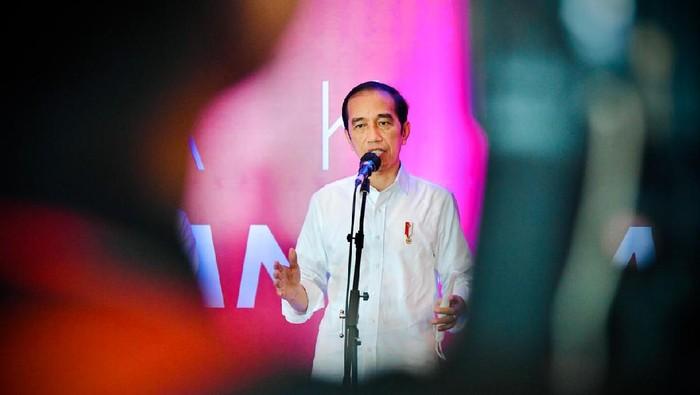 Presiden Joko Widodo (Jokowi) saat di Makassar (Foto: Laily Rachev - Biro Pers Sekretariat Presiden).