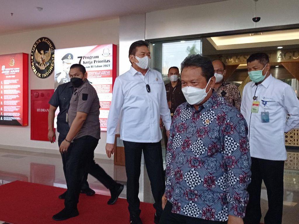 Menteri KKP Trenggono Temui Jaksa Agung Burhanuddin, Bahas Apa?