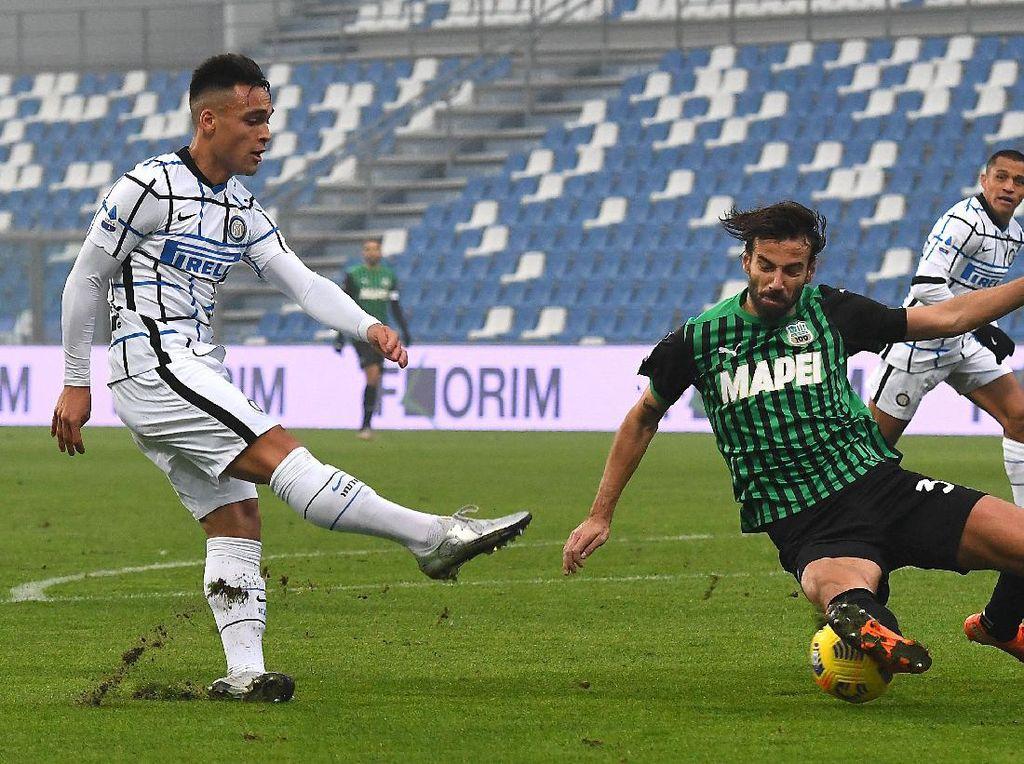 Inter Milan Diserang COVID-19, Laga Lawan Sassuolo Ditunda