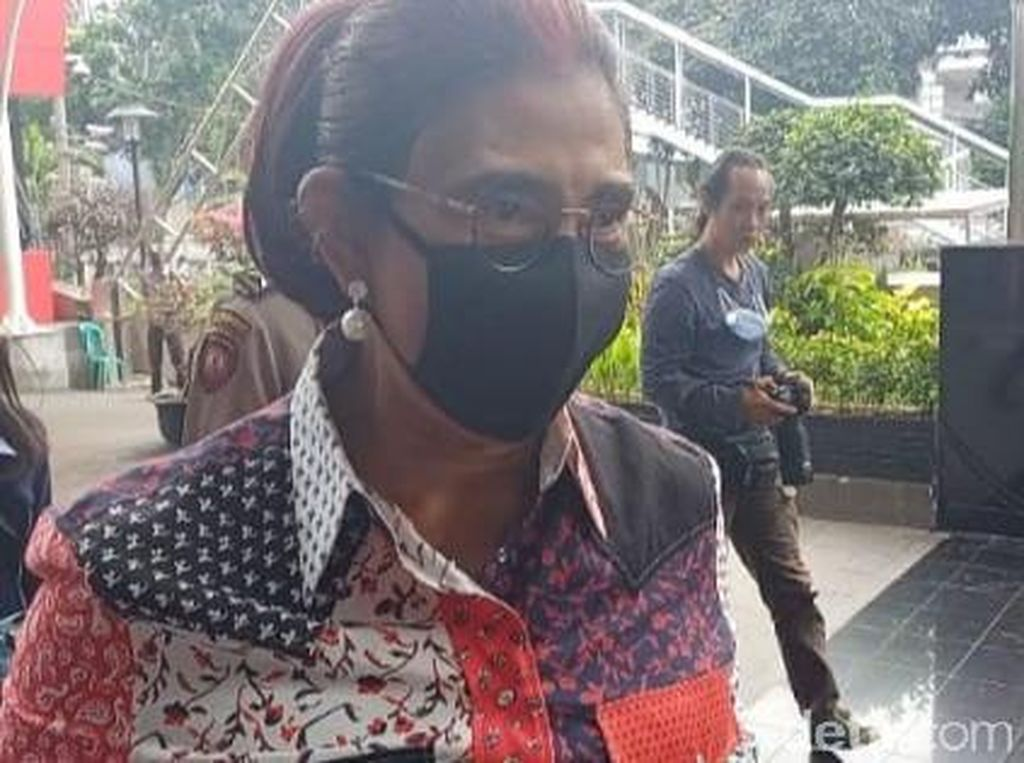 Sehari Usai Diserang Edhy Prabowo, Susi Pudjiastuti Sambangi KPK