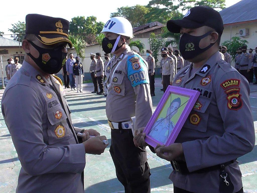 Jadi Pengedar Sabu, Oknum Polisi di Polres Gorontalo Dipecat