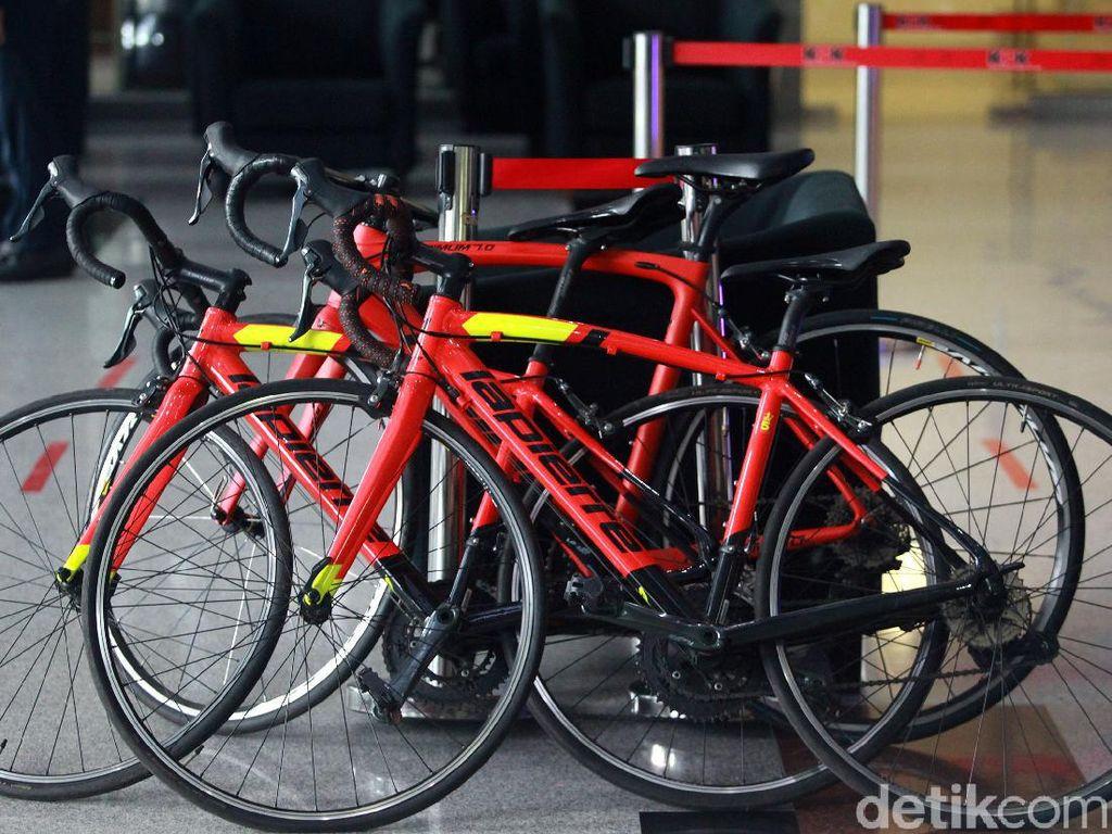 13 Sepeda Balap Edhy Prabowo Mejeng di KPK