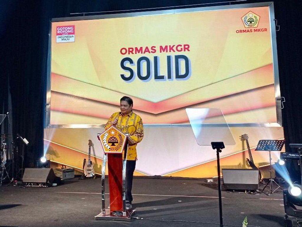 Skenario Tunggal MKGR di Pemilu 2024: Usung Airlangga Jadi Capres