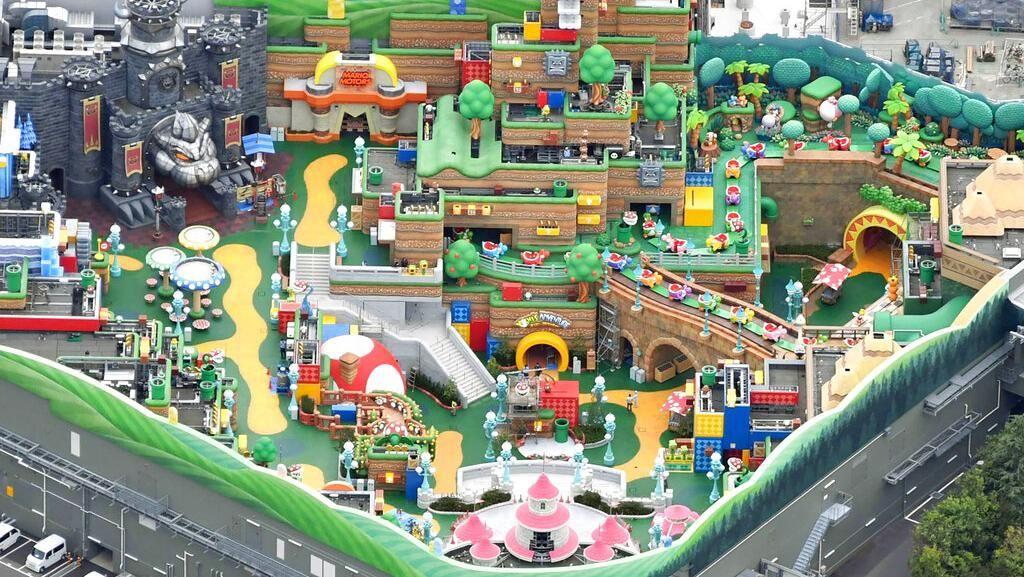 Asyik! Super Nintendo World di Universal Studio Jepang Udah Buka
