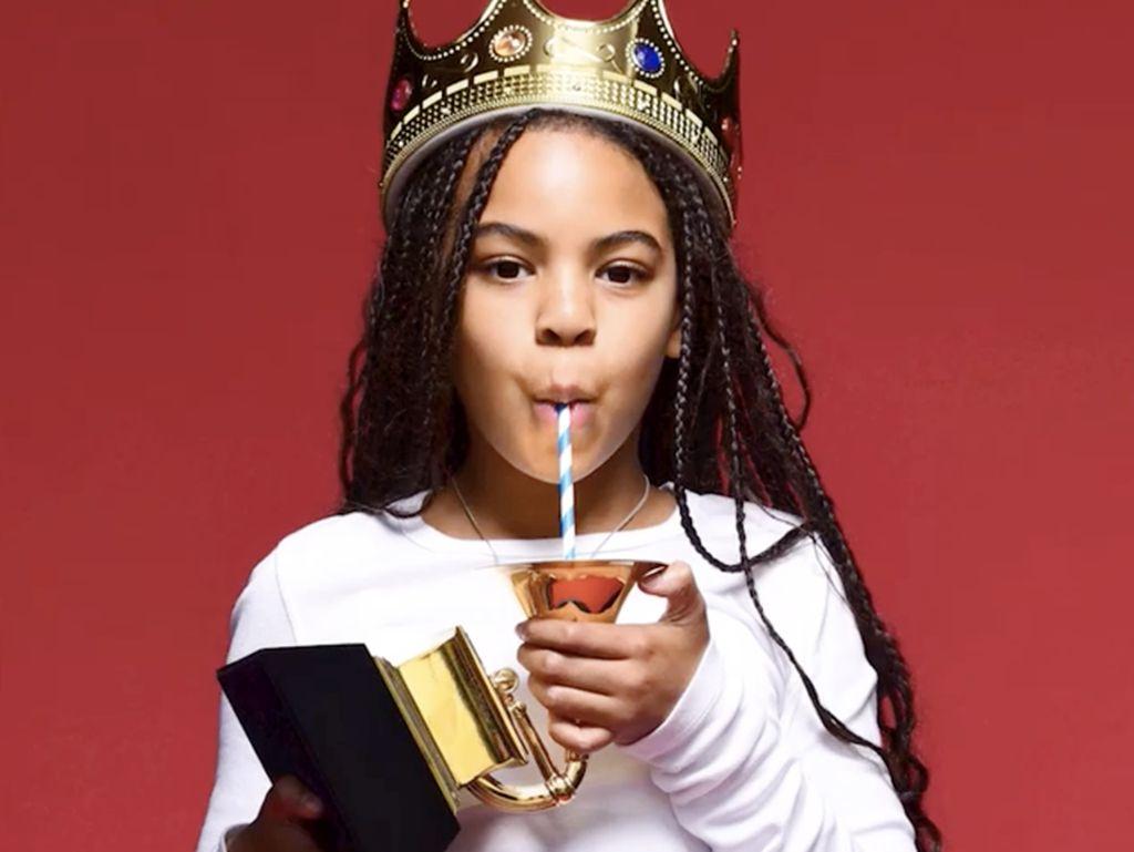 Cara Blue Ivy Rayakan Grammy Pertamanya yang Bikin Heboh