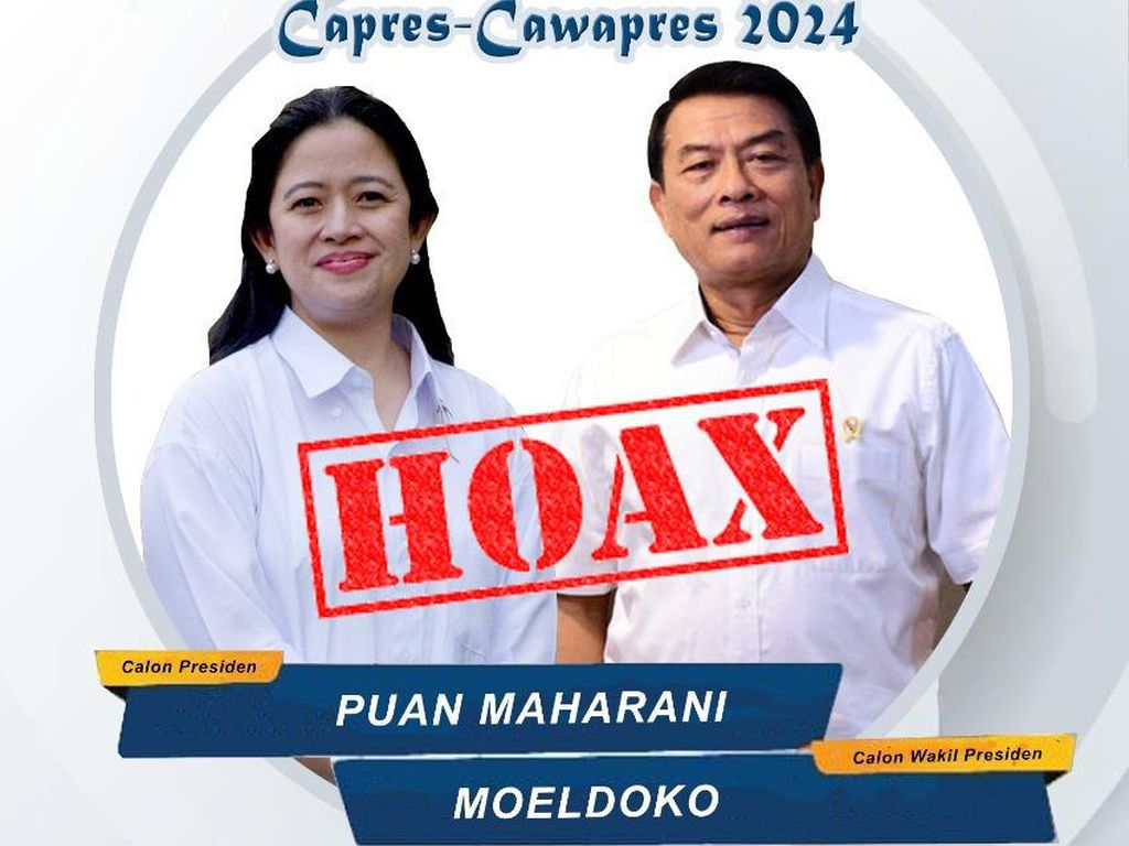 Poster Puan-Moeldoko dan JK-AHY Dianggap Awal Perang Menuju 2024