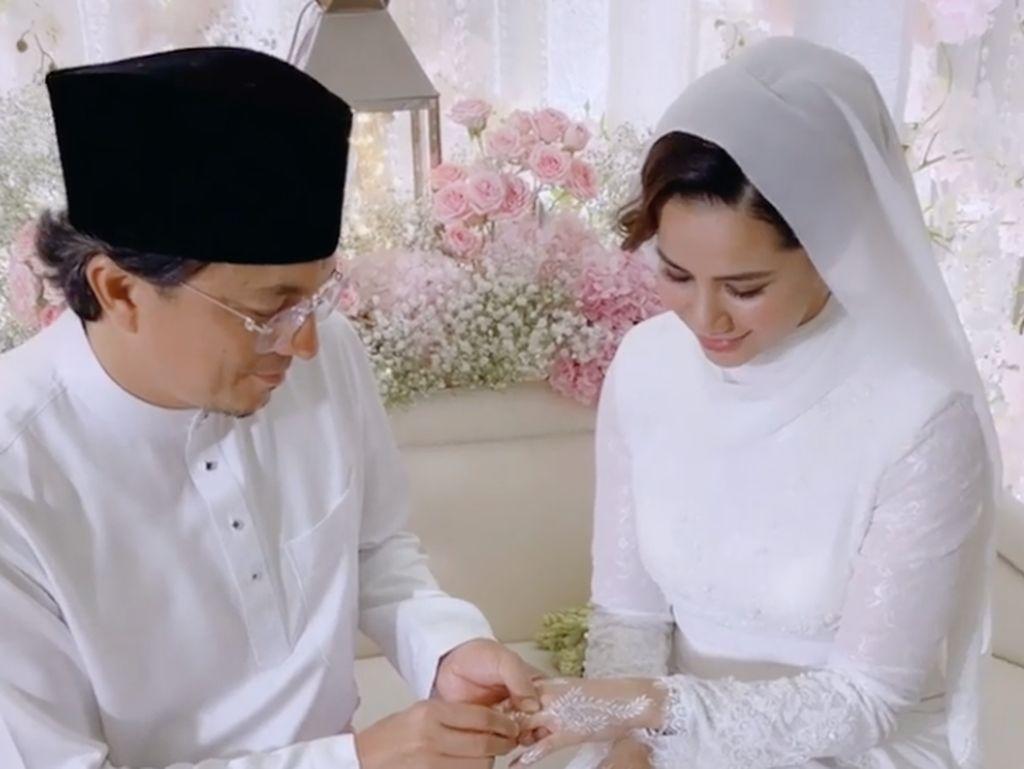 Potret Pernikahan Engku Emran dan Noor Nabila