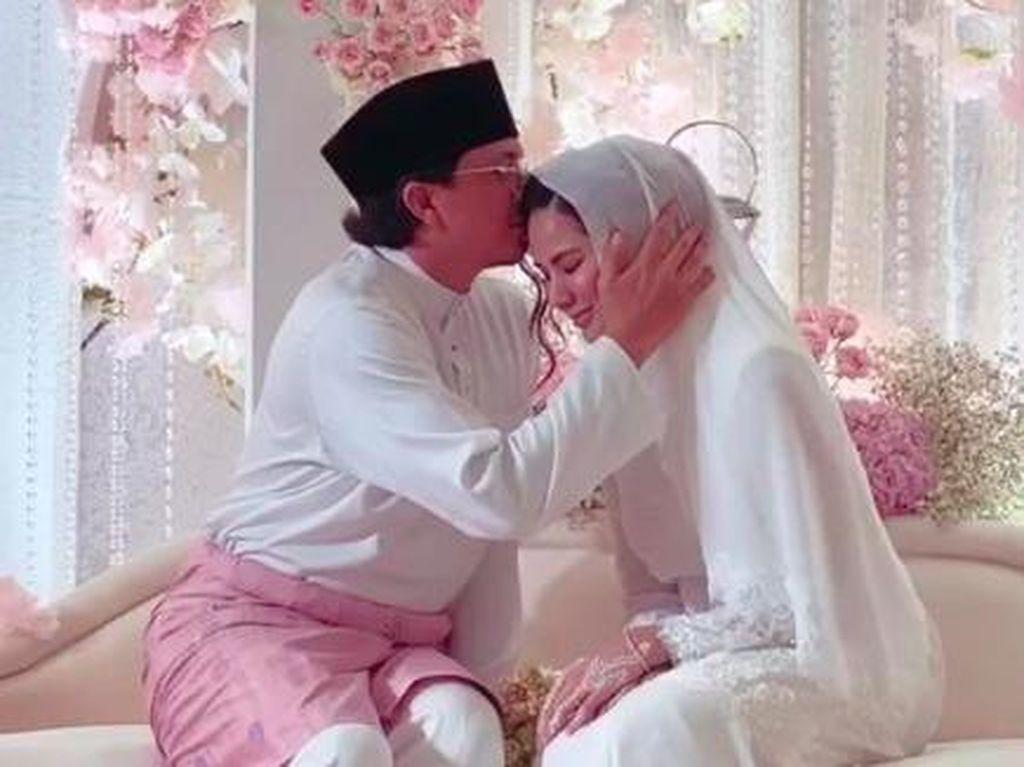 Pernikahan Ketiga Eks Laudya Cynthia Bella dengan Pebisnis Hijab