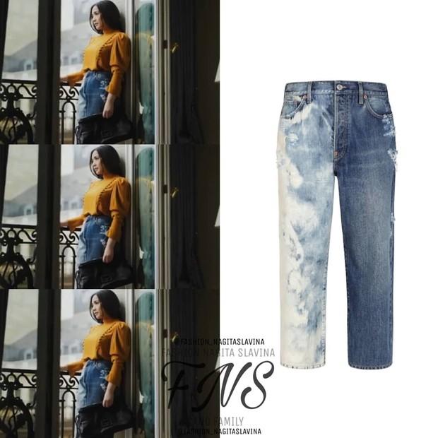 Celana jeans nagita slavina